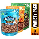 Blue Diamond Almonds Bold Favorites Variety Pack - Salt 'n Vinegar, Habanero BBQ, & Wasabi & Soy Sauce, Bold Variety…