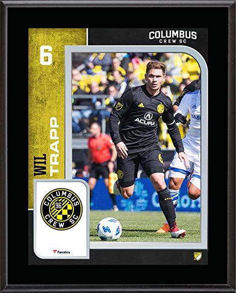 3f3548f06 Wil Trapp Columbus Crew SC 10.5   x 13   Sublimated Player Plaque - Soccer  Plaques and Collages at Amazon s Sports Collectibles Store