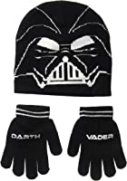 Star Wars Boys' Darth Vader Knit Hat Set