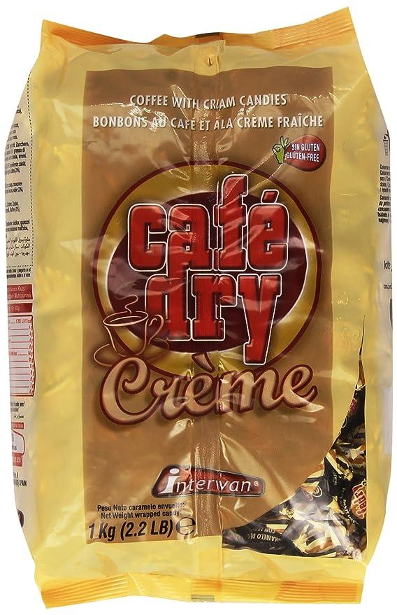 Café Dry - Crème - Caramelos de café con leche - 1 kg: Amazon.es ...