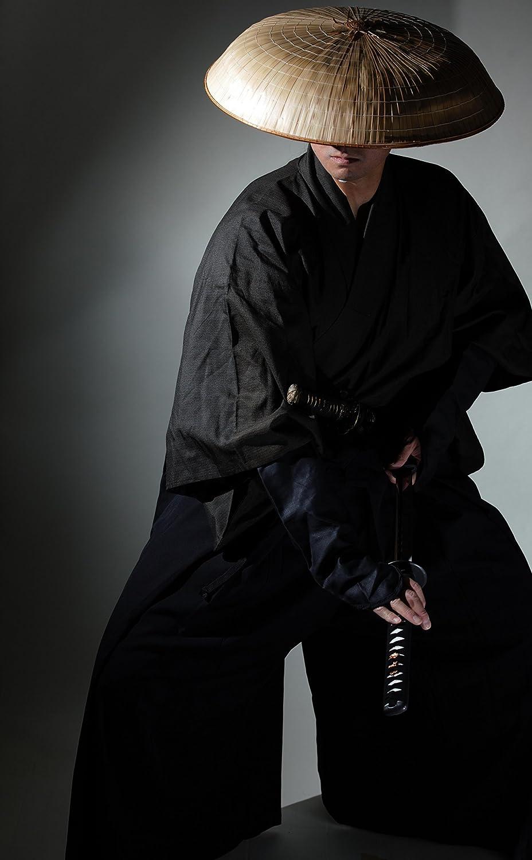 Japan Japanese Samurai Ninja Hat Travel Cosplay Natural Bamboo SANDOKASA Costume