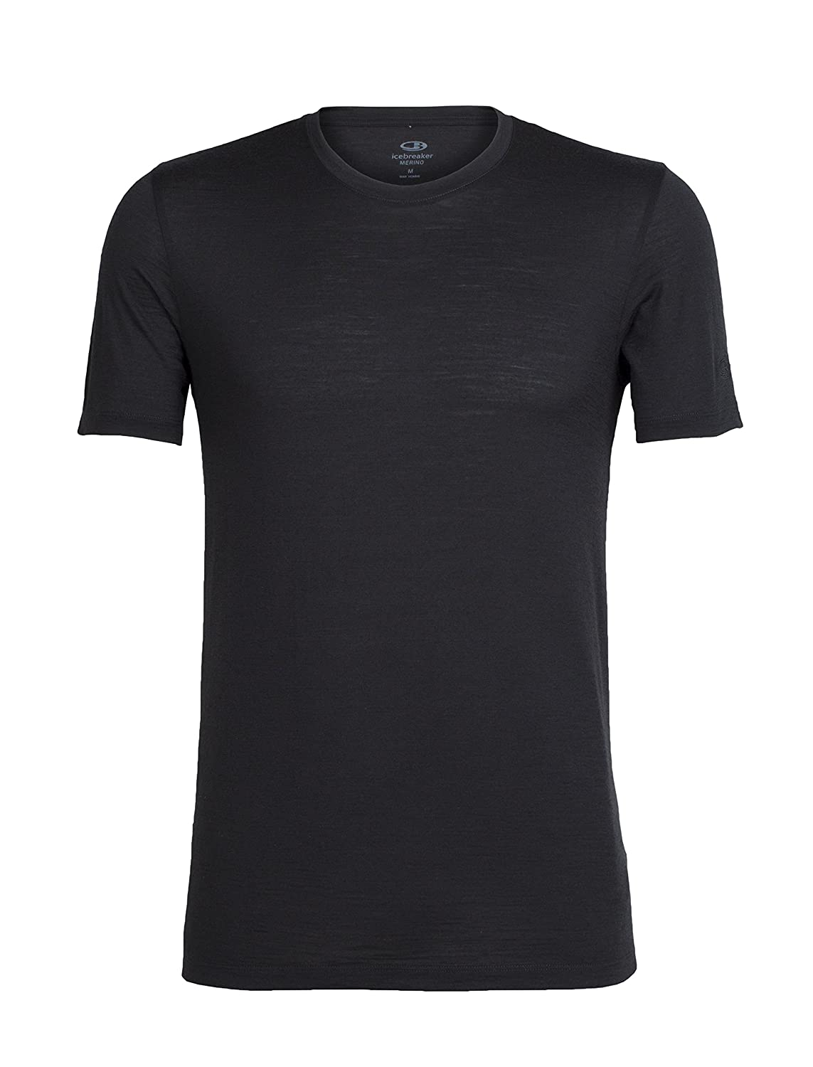 Icebreaker Shirt - kurzarm Tech T Lite Short Sleeve - Shirt Camiseta, color negro, talla L 87b41a
