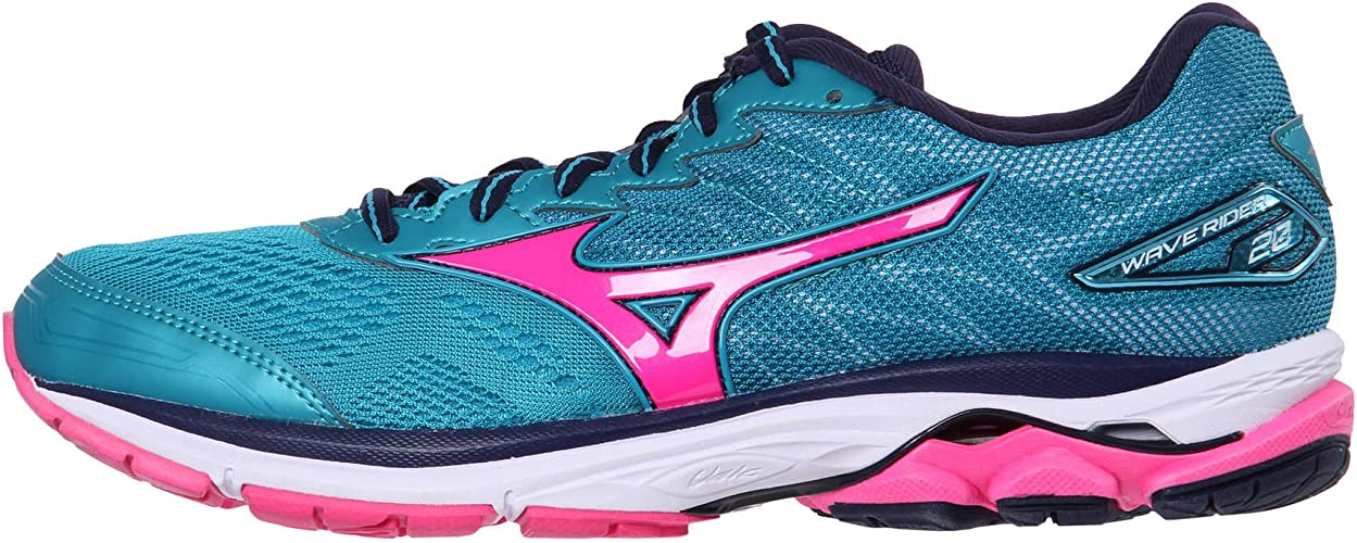 Mizuno Wave Rider 20 Womens Zapatillas para Correr - 36.5: Amazon.es: Zapatos y complementos