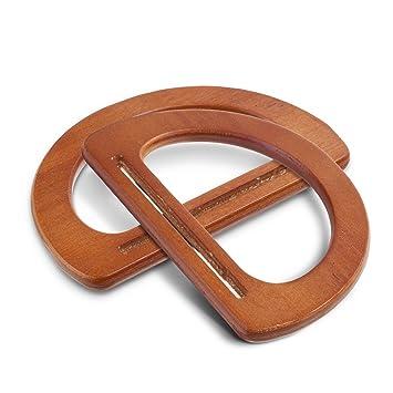 KLOUD de ciudad ovalado asas par sólida para repuesto 1 de de madera rnrxZqS