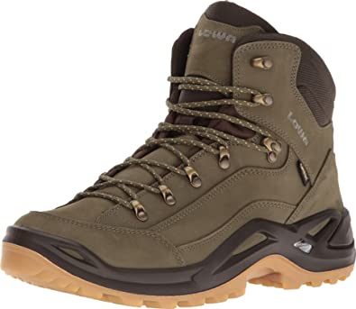 5d9a19bad6f Lowa Men's Renegade GTX Mid Forest/Dark Brown Boot