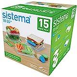 Sistema To Go 15-Piece Food Storage Container Set