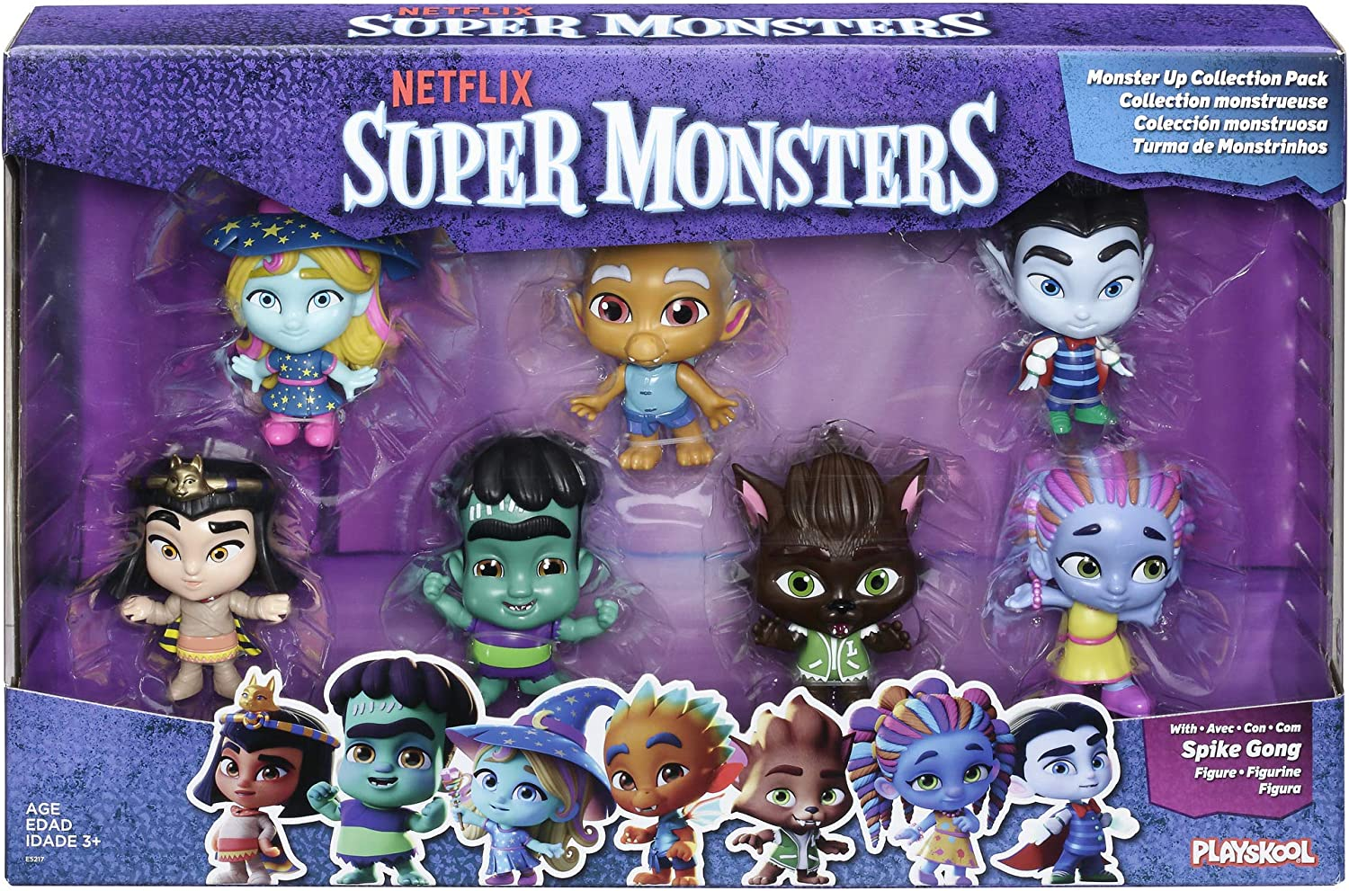Amazon Com Netflix Super Monsters Figures Monsters Up Collection 7 Pack Toys Ages 3 And Up Toys Games