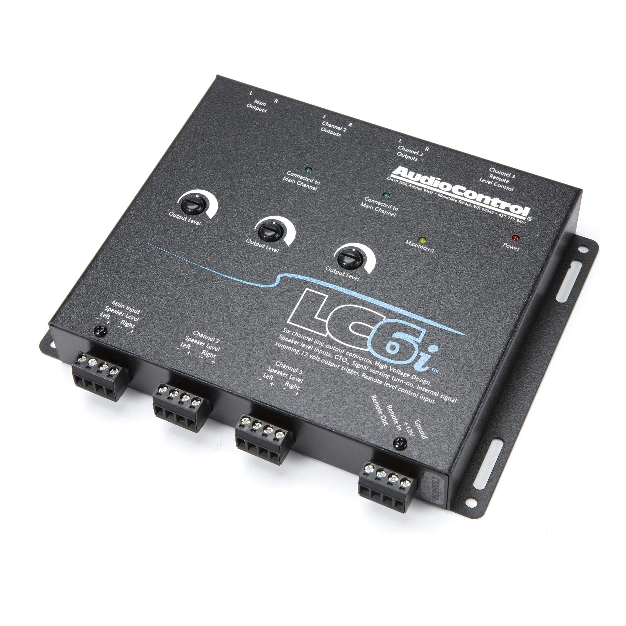 AudioControl LC6i Black AUDIO CONTROL