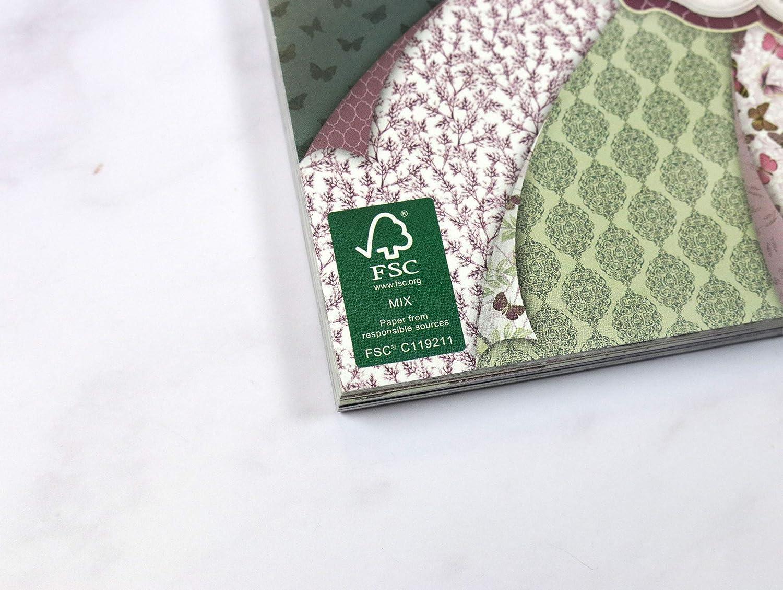 multicolore Autre First Edition FSC Perfect Allusion Pad Papiers 21 x 21 x 2 cm