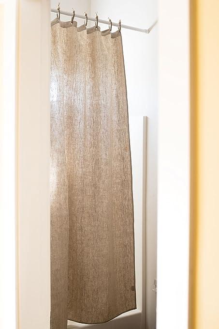 Organic Hemp Shower Curtain Full Size 735x72