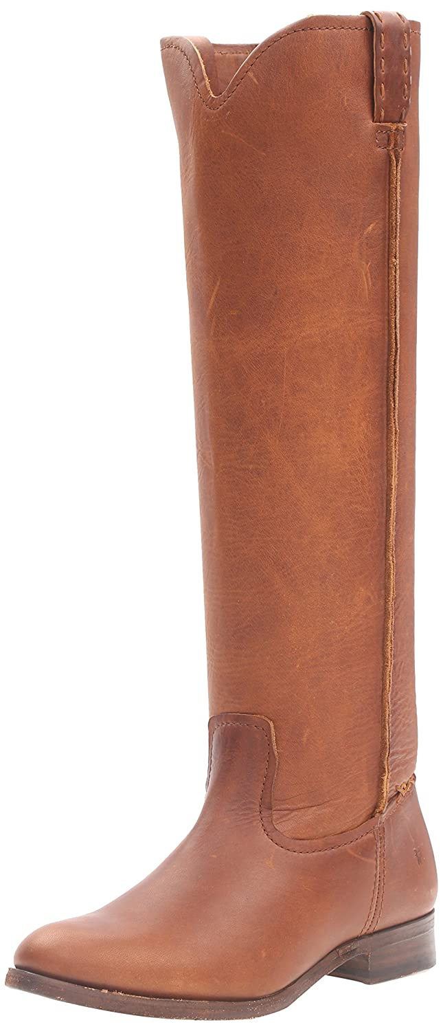 FRYE Women's Cara Tall Leather Slouch Boot B01AA8JPLQ 6 B(M) US|Cognac