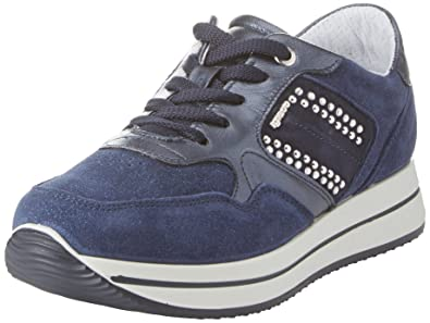 Damen Sneaker Blau Blu Igi & Co U77KMBYD