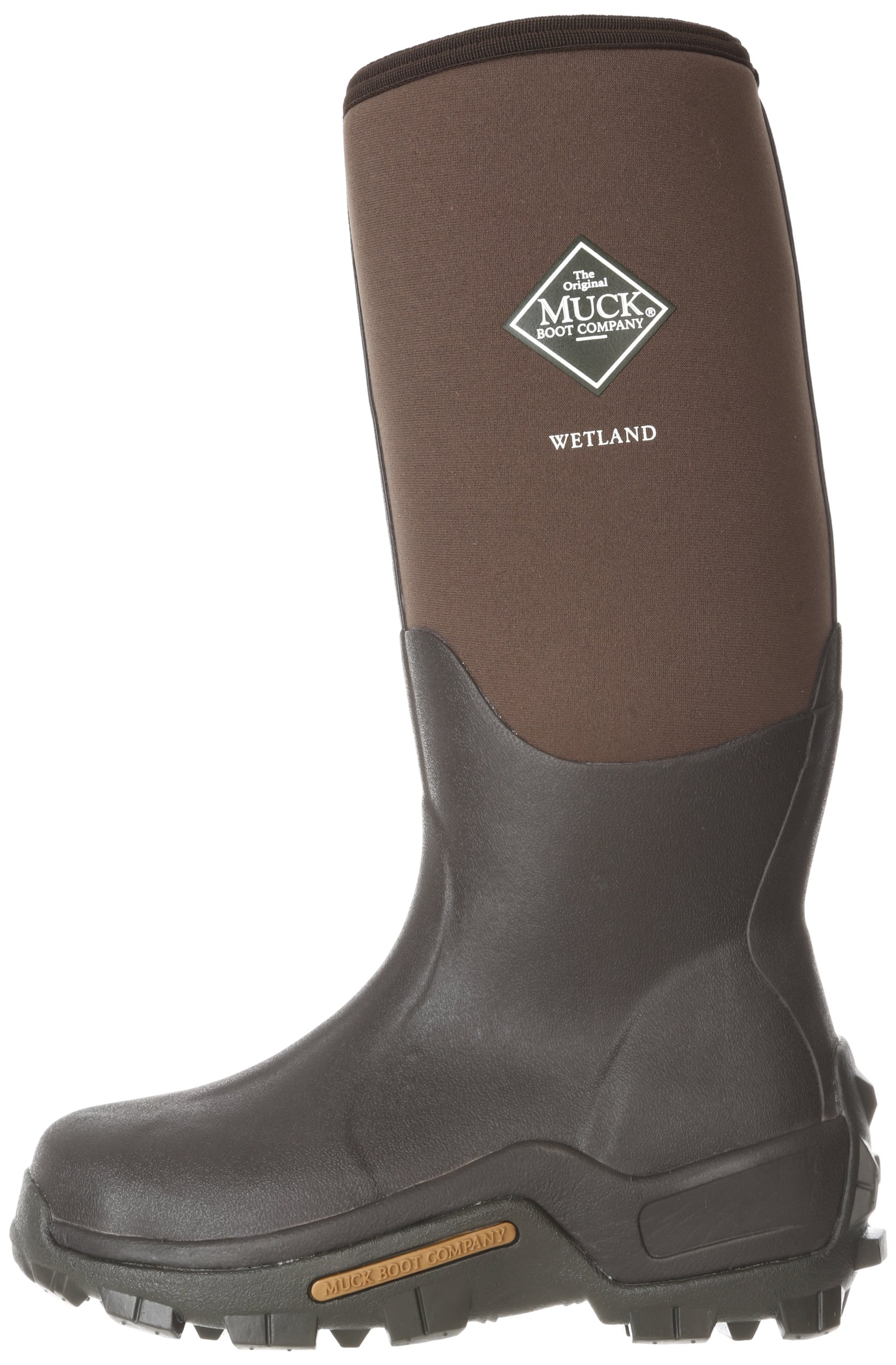 Muck Wetland Rubber Premium Men's Field Boots,Bark,Men's 14 M/Women's 15 M by Muck Boot (Image #5)