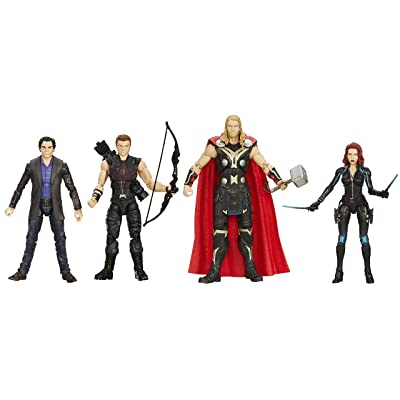 "Avengers 6"" Movie Legends Action Figure (Pack of 4): Toys & Games"