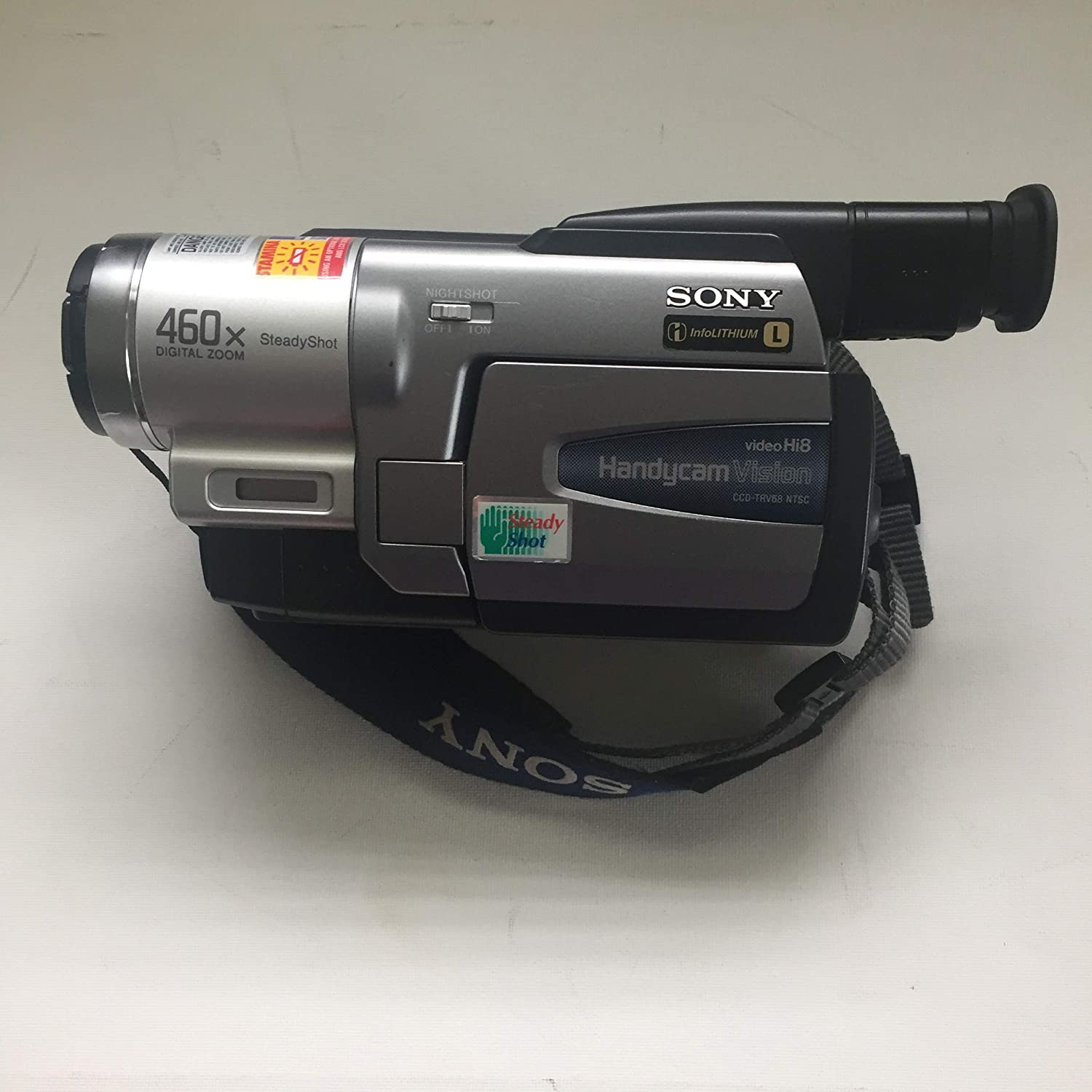 Sony CCD-TRV68 Hi8 Camcorder Discontinued by Manufacturer