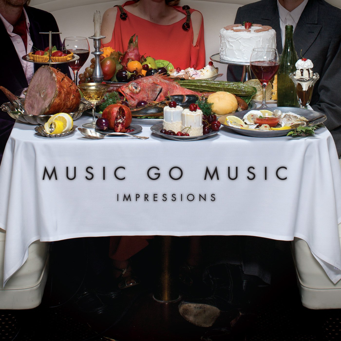 CD : Music Go Music - Impressions (CD)