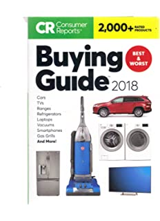 Consumer Reports Buying Guide 2018