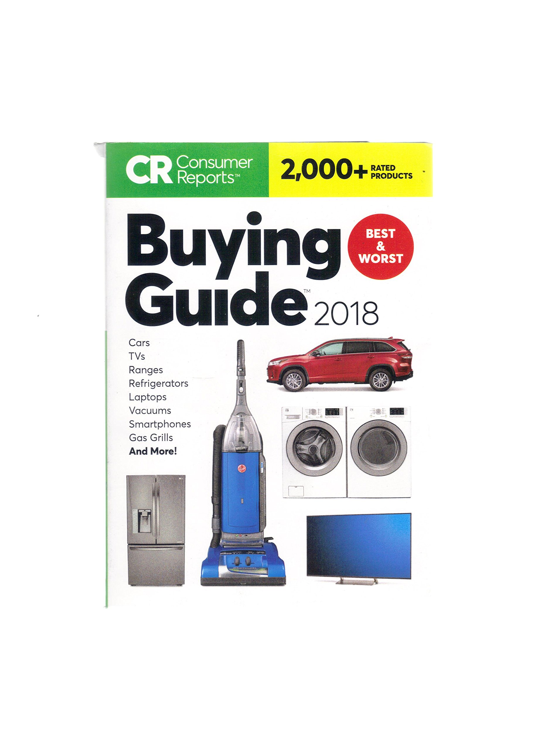 Consumer Reports Buying Guide 2018 Amazon Books