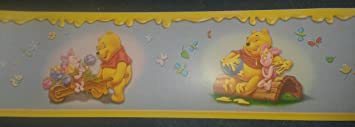 Original Disney Winnie Pooh Puuh & Tiger Borte Bordüre L 10 M x B 10 ...