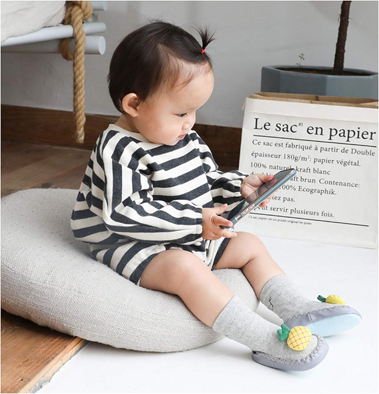 Baby Socken H/üttenschuhe Anti Rutsch Babysocken kinder Baumwolle Socken Fr/ühling und Sommer Lieblich Cartoon 0-2Jahre