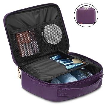 Amazon.com: Bolsa de maquillaje de viaje para cosméticos ...