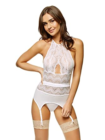 0468d4685f Ann Summers Womens Darrah Cami Suspender Sexy Lingerie  Amazon.co.uk   Clothing