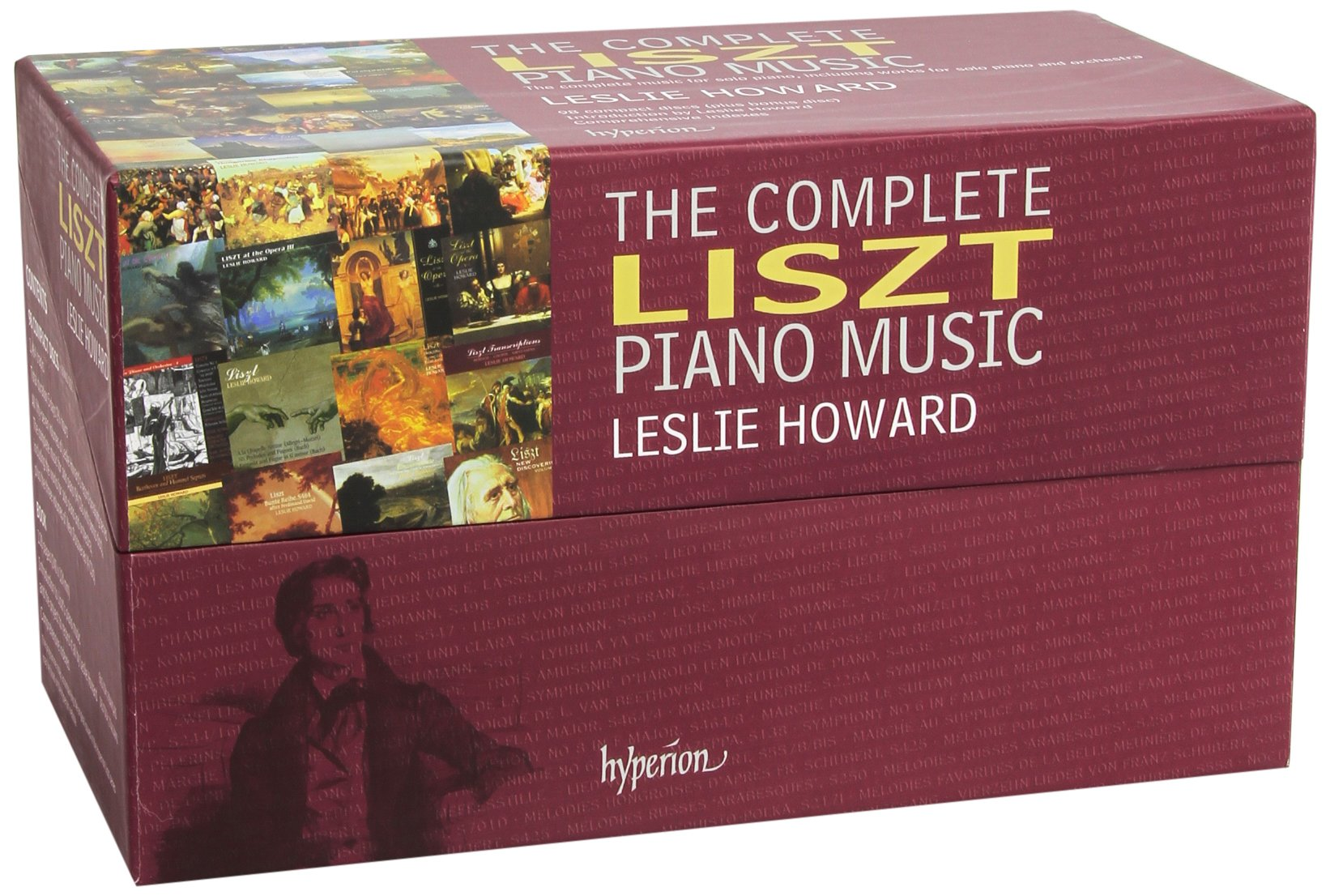 Liszt: Complete Piano Music by HYPERION