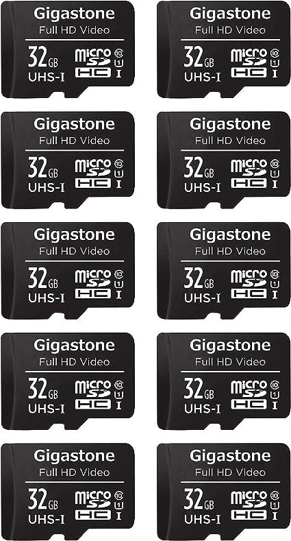 Gigastone 32gb Mirco Sd Speicherkarte 10er Pack Computer Zubehör