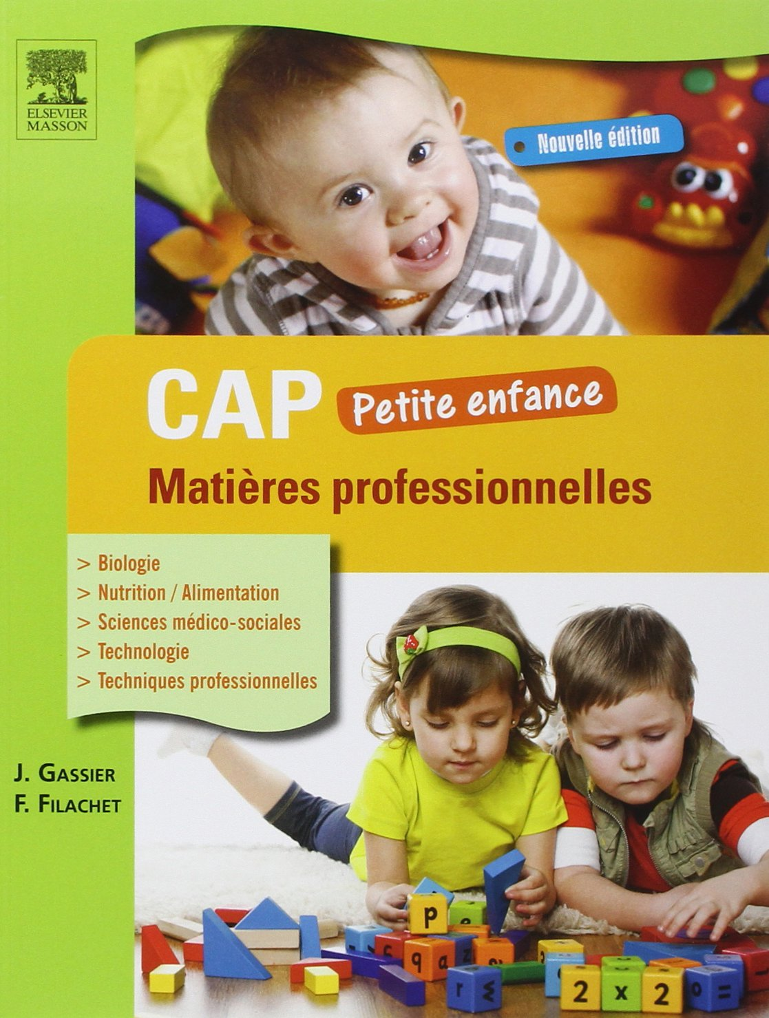 Amazon Fr Cap Petite Enfance Matieres Professionnelles 3ed