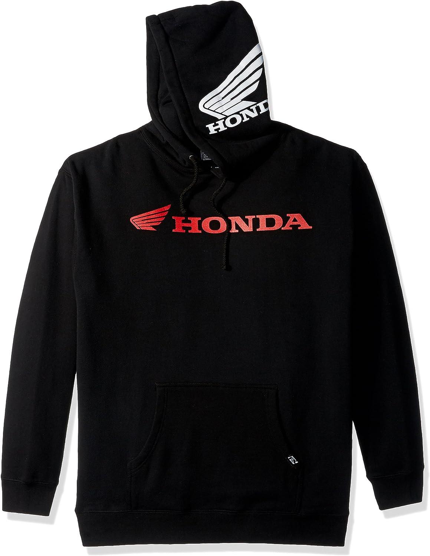 Factory Effex Honda Badge Unlined Zip-Up Hoody Black, Medium