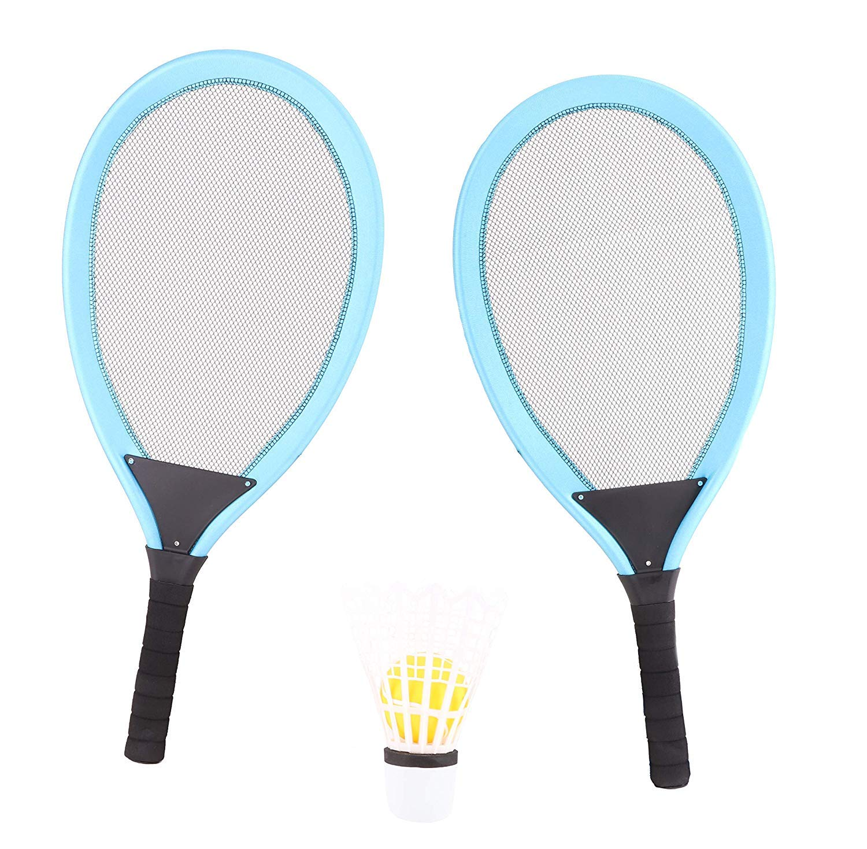 Koolbitz 2 in 1 Children Adults Colorful Tennis Badminton Racket Set Outdoor