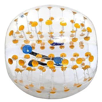 Amazon.com: Tpu transparente pelota hinchable de parachoques ...