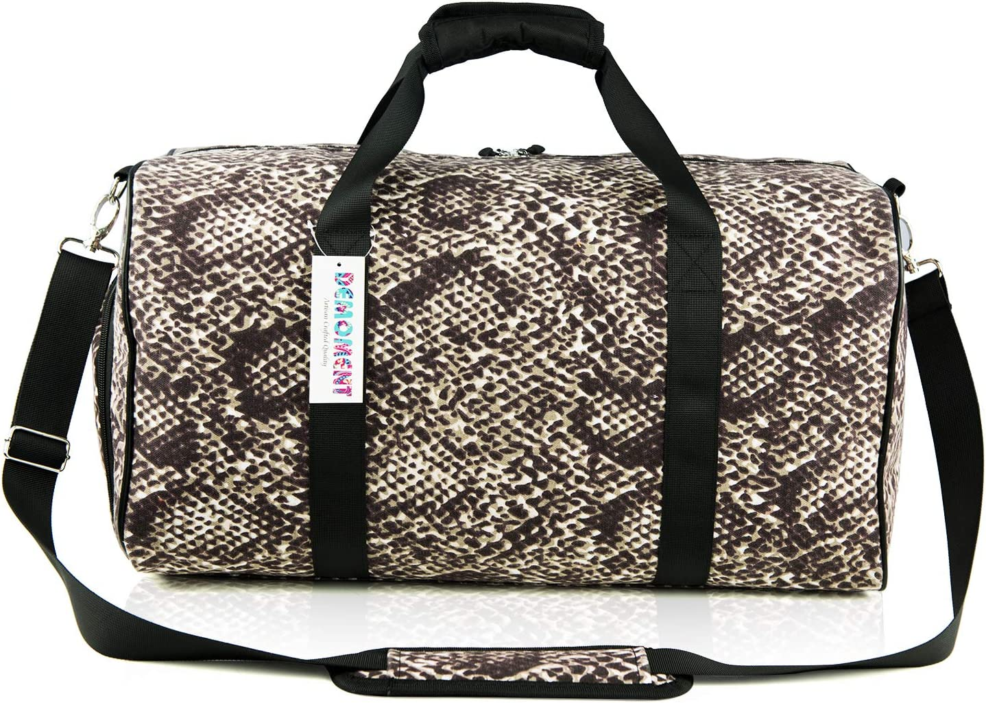 Sloth/_Ttb/_10 Sports Gym Bag with Shoes Compartment Travel Duffel Bag for Men and Women