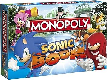 Sonic Boom Monopoly Juego de Mesa Standard: Amazon.es ...