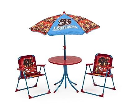 Mesa de jardín Set niños Sillas mesa sombrilla - Silla ...