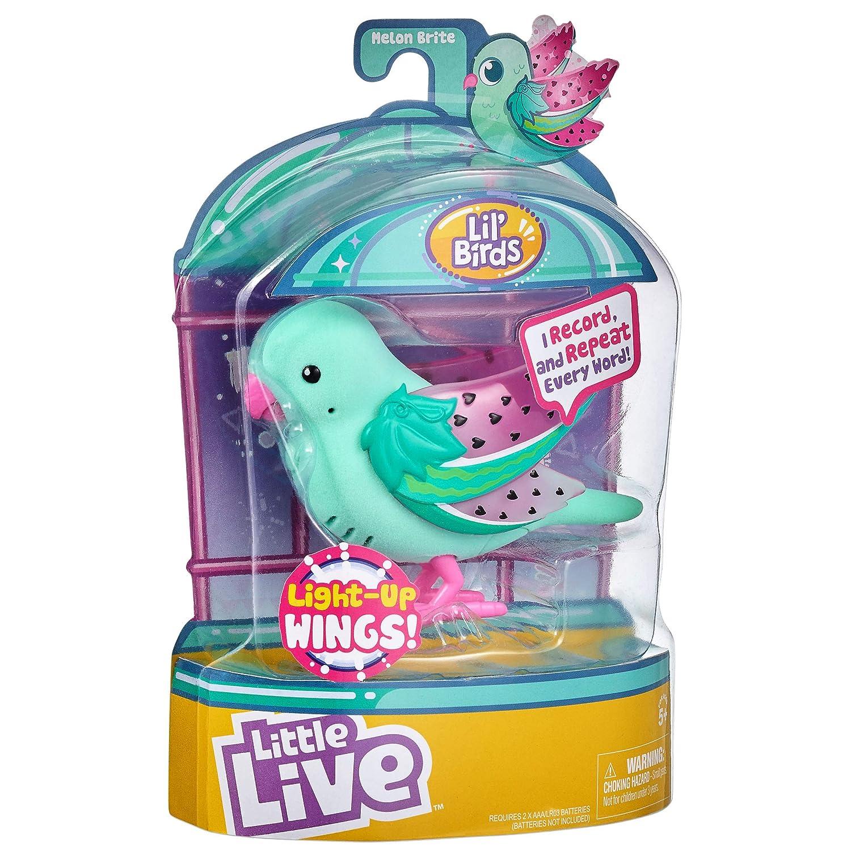 S9-Styles Little Live Pets 28617 Liederv/ögel mit Beleuchtung