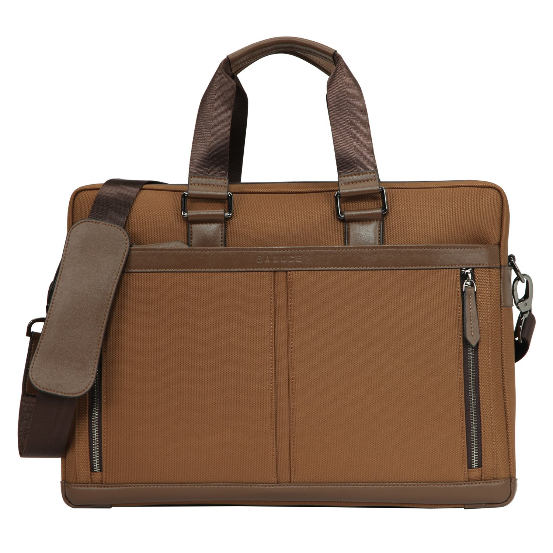 Banuce Waterproof Nylon Waterproof Laptop Messenger Bag 13 inch Business Briefcase for Men Slim Shoulder Attache Case