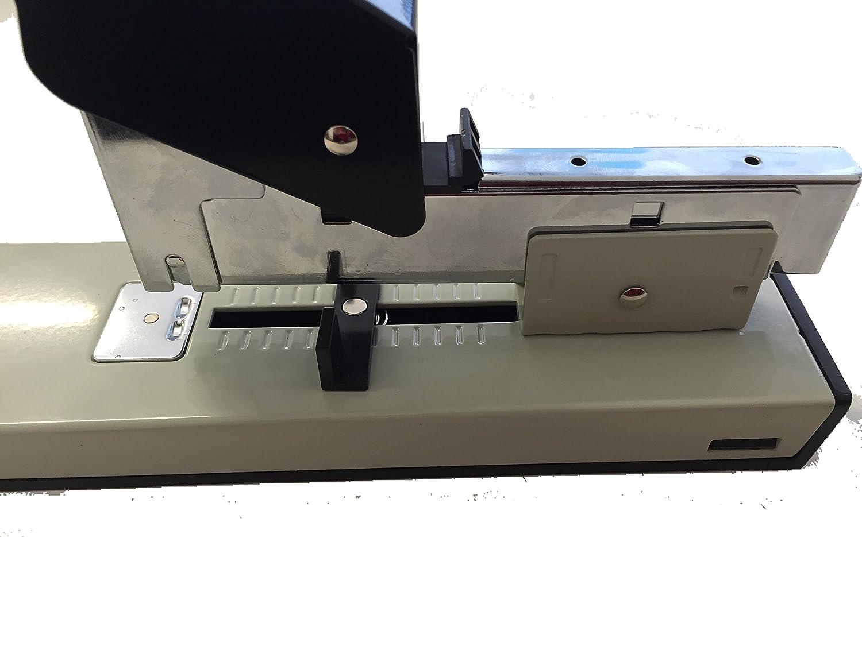 DOBO/® Cucitrice a leva per alti spessori Spillatrice Cucitrice Fino a 100 fogli confezione da 1000 pezzi punti metallici spille 23//13