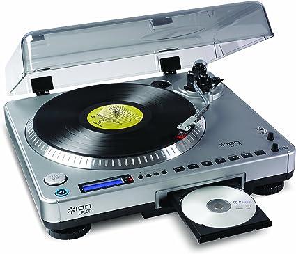 Amazon.com: Ion tocadiscos USB con grabador de CD ...