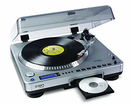 vinyl to digital ion record players