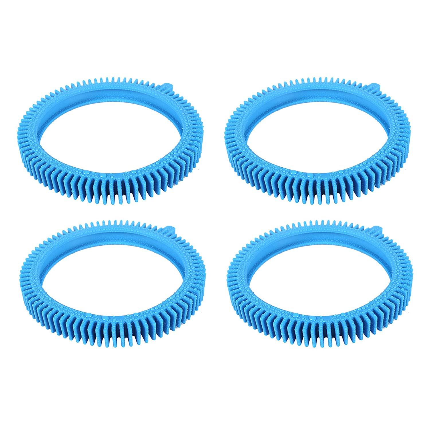 AR-PRO Replacement Tires with Super Hump for Poolvergnuegen 896584000-143, Fits Select Poolvergnuegen Cleaners, 4-Pack