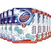 Glorix Power-5 Toiletblok Power Bleek - 9 stuks - Multipack