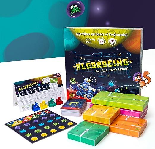 Juego de mesa de estrategia - Programación - Juego de mesa de estrategia de lógica y codificación para niños de 6 a 12 años en adelante.: Amazon.es: Juguetes y juegos