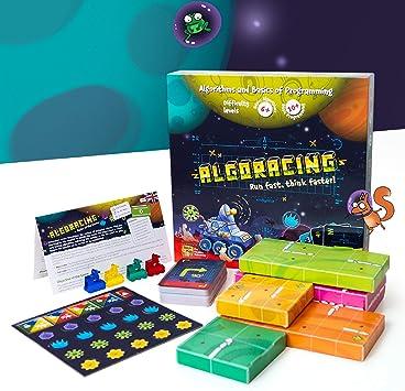 Juego de Mesa de Estrategia – Programación – lógica y codificación Estrategia Juego de Mesa para niños de 6 – 12 y más: Amazon.es: Juguetes y juegos