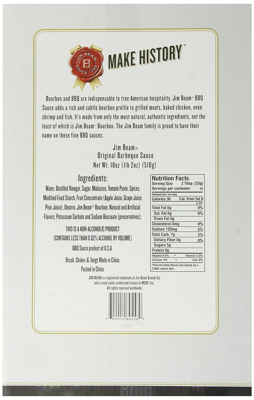 Jim Beam: Asar a la parrilla Salsa Essentials – , pinzas ...