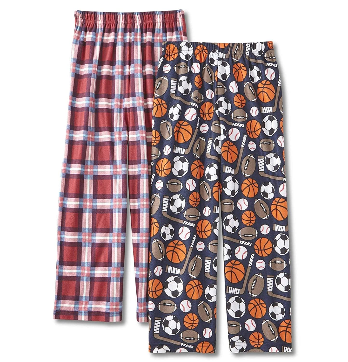 Joe Boxer Boys 2-Pack Pajama Pants Sleep Bottoms