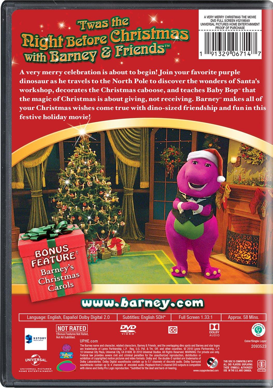 Barney A Very Merry Christmas The Movie Dvd.Barney A Very Merry Christmas The Movie Amazon Co Uk