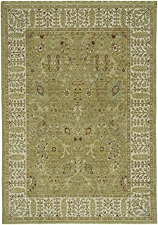 "product image for Capel Centennial-Vista Basil 5' 3"" x 7' 6"" Rectangle Machine Woven Rug"