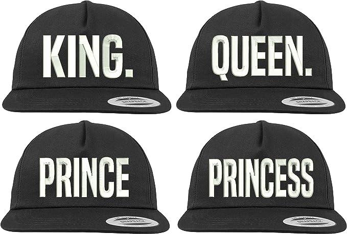 Youth Designz - Gorra de béisbol - para Hombre King + Queen Talla ...
