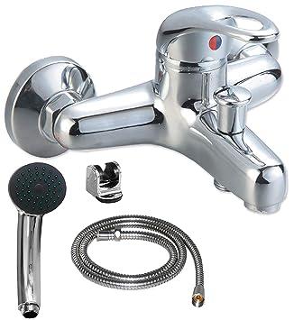 Gut gemocht Badewannenarmatur mit Handbrause (Brauseschlauch) | Wannen Armatur RF66